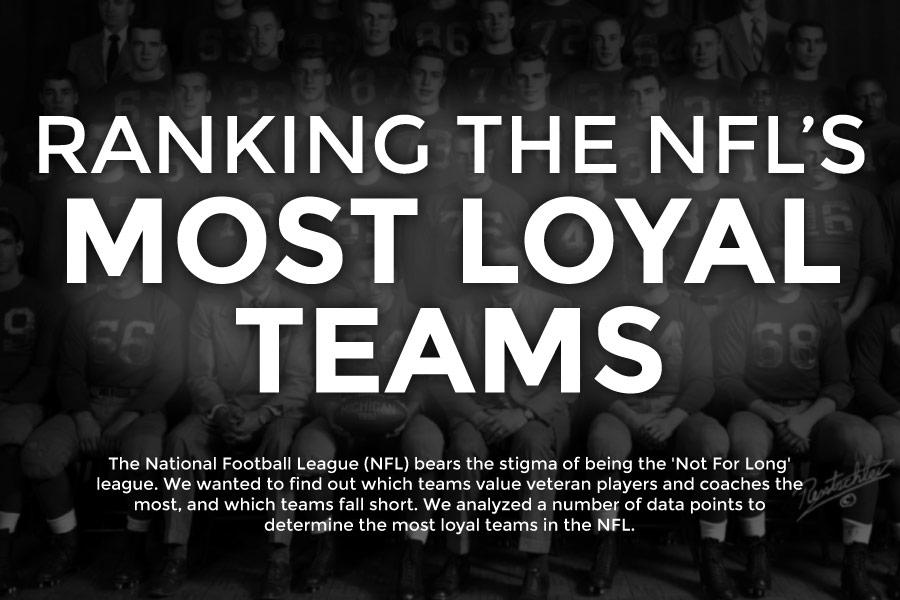 Ranking the NFL's Most Loyal Teams